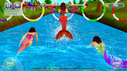 Fancy Mermaid Race Adventures screenshot one