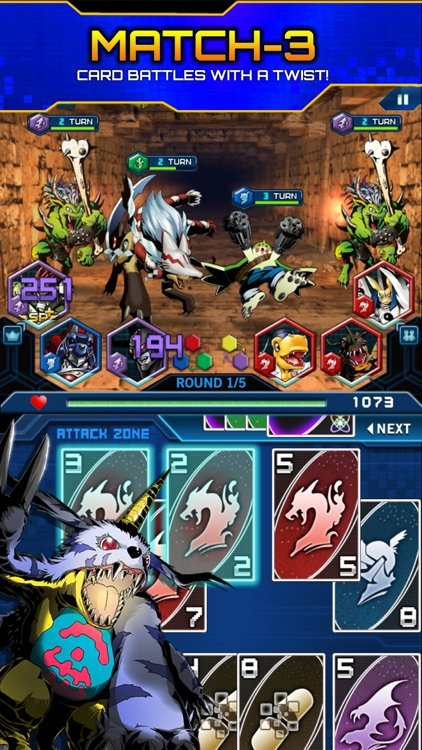 Digimon Heroes! screenshot-0