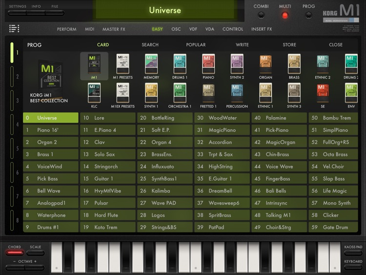 KORG iM1 screenshot-2