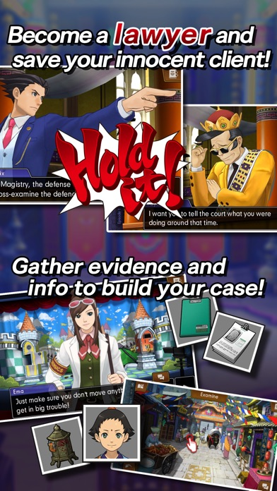Ace Attorney Spirit of Justice screenshot 2