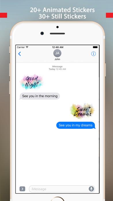 Greetings - Animated WaterColor Bloom Screenshot
