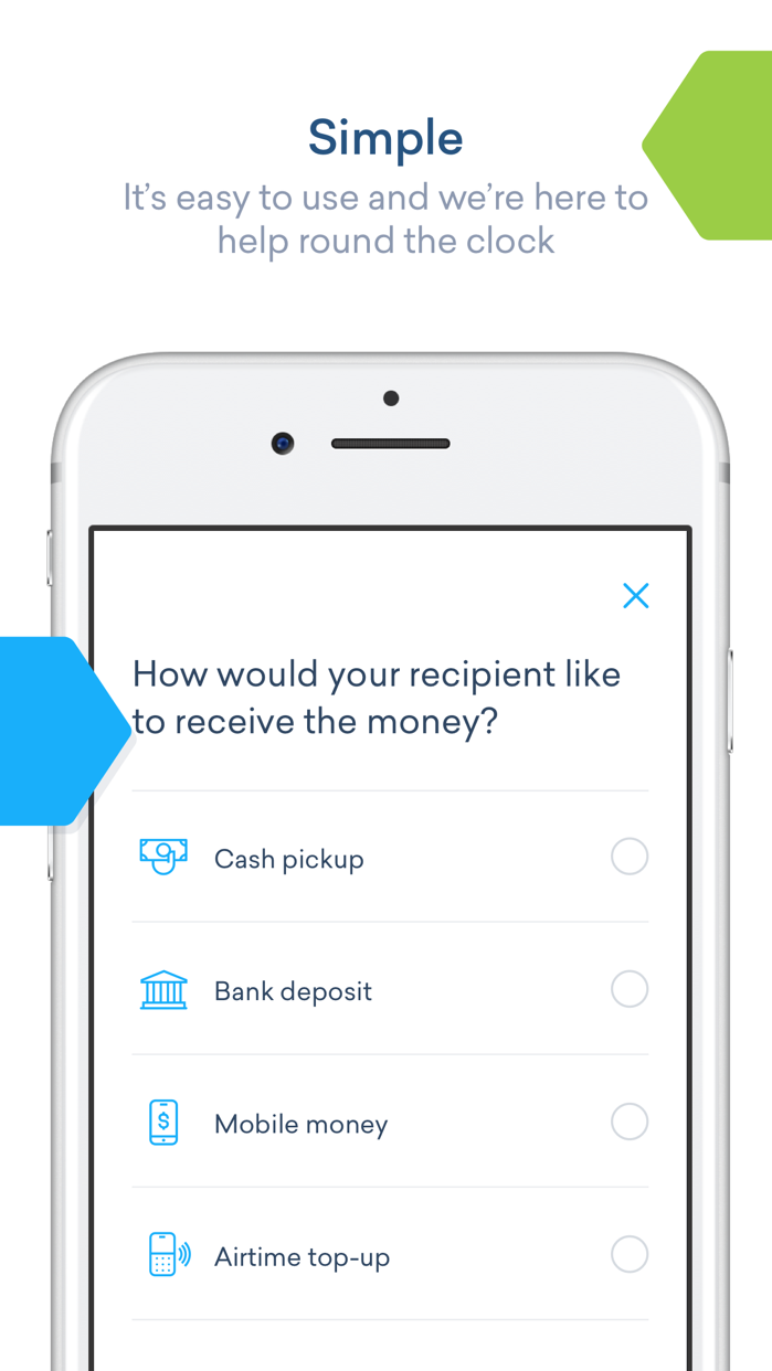 WorldRemit Money Transfer Screenshot