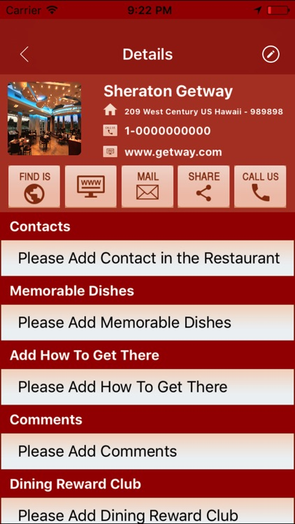 My Restaurants screenshot-4