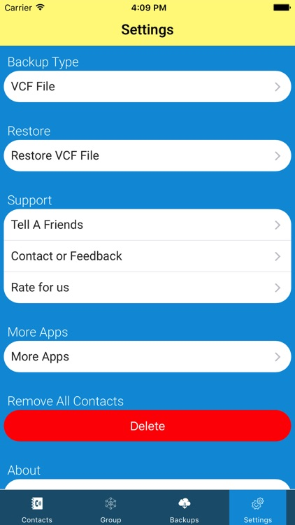 Contacts Backup-delete & merge duplicate contacts screenshot-4