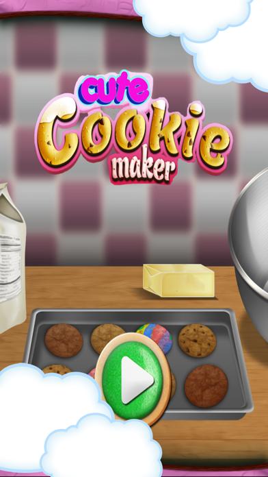 Cute cookie maker screenshot 1