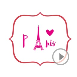 Animated Paris Stickers