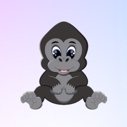 GorillaMoji - Gorilla Emoji And Stickers Pack