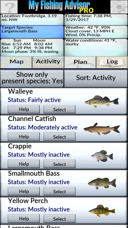 My Fishing Advisor screenshot-1