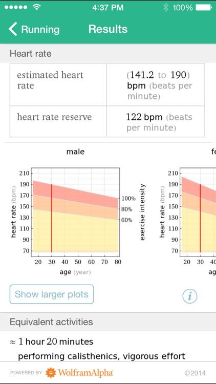 Wolfram Personal Fitness Assistant App screenshot-3