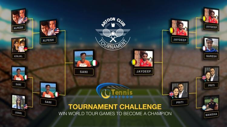 Tennis Multiplayer screenshot-4