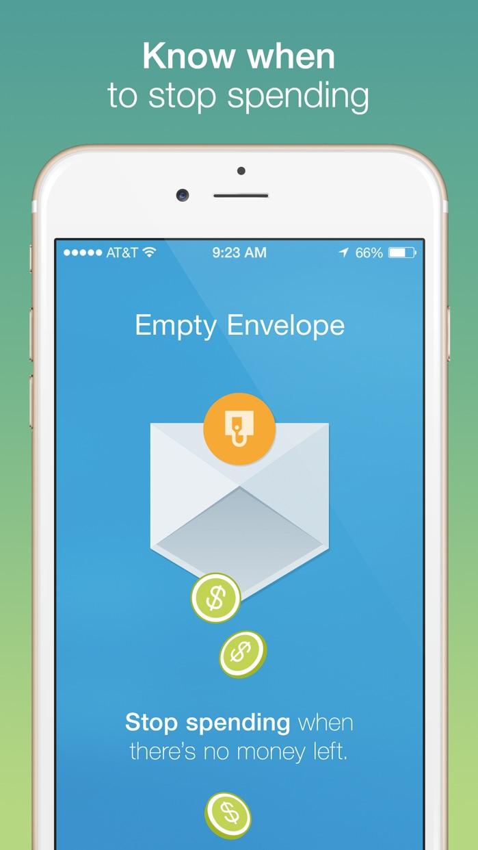 Mvelopes - Budgeting App Screenshot
