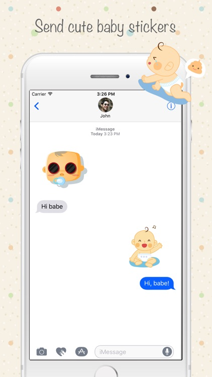 Babymoji - Emoji & Stickers screenshot-1