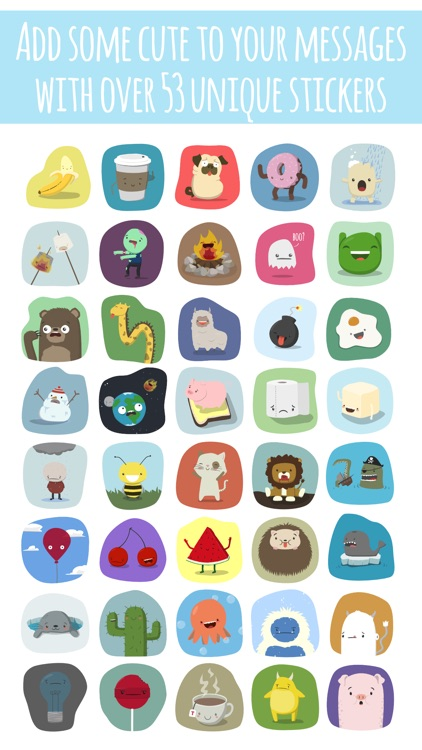 Far Too Cute Stickers