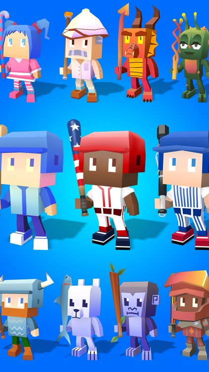 Blocky Baseball - Endless Arcade Batting screenshot-4