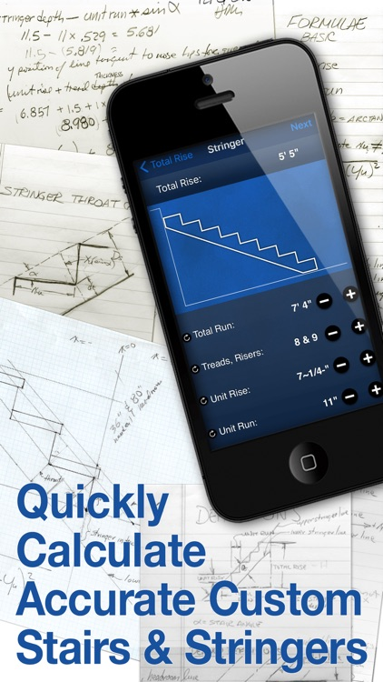 Delux Stairs - Stair Construction Calculator