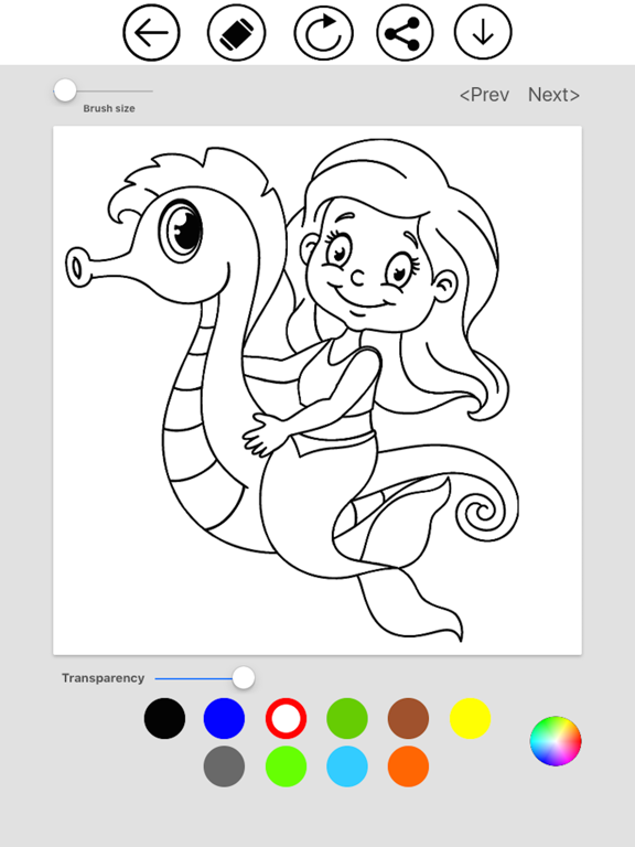 Mermaid Coloring screenshot 9