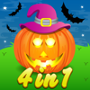 Sachin Sachdeva - Four in One Halloween Activity Bundle for Kids artwork