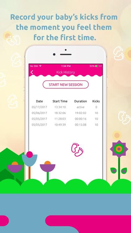Pregnancy Tracker: Contraction Timer, Kick Counter screenshot-4