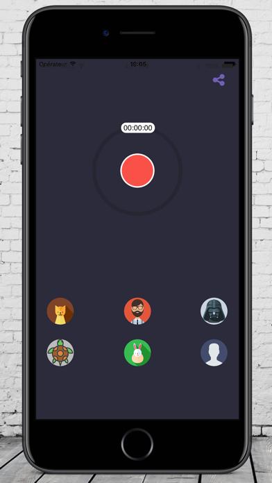 مغير الصوت بدون انترنتلقطة شاشة2