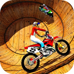 Well Of Death Bike Rider - Motorbike Stunts Racing