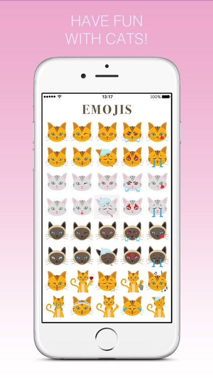 Cats - emoji sticker pack for cat lovers screenshot-3