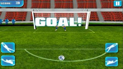 Super Soccer Free Kicks Challenge screenshot one