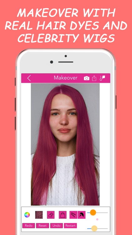 Hair Alone Personalized Expert Hairstyling Advice screenshot-3