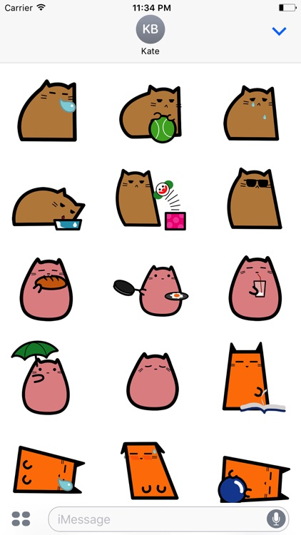 CUTEsy CAt & DOg Animated Sticker Pack