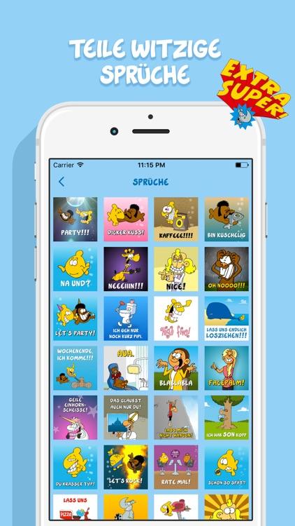 Ruthe Cartoons - Emoji und Sticker Keyboard-App screenshot-4