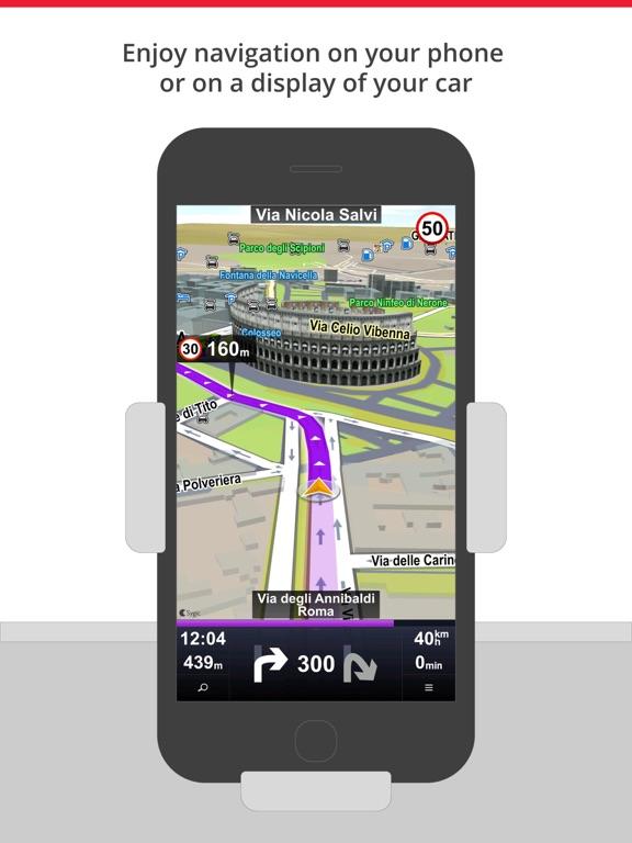 Car Navigation: Maps & GPS Screenshots