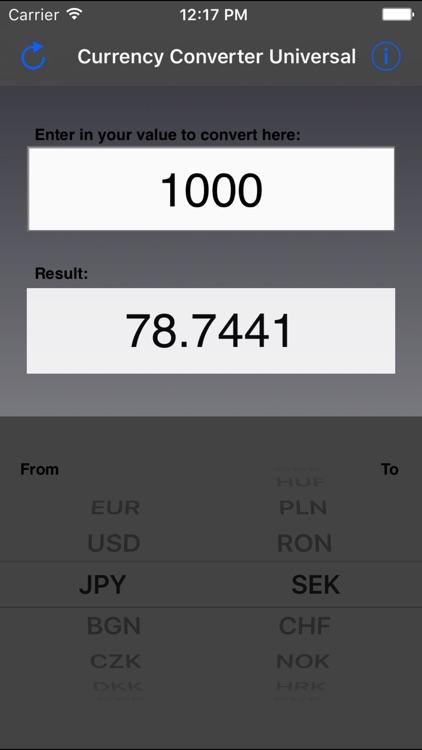 Currency Converter Universal screenshot-3
