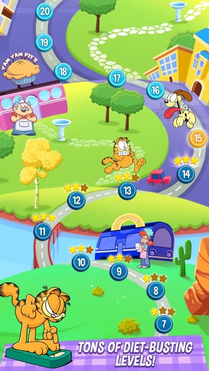 Garfield: My BIG FAT Diet screenshot-4
