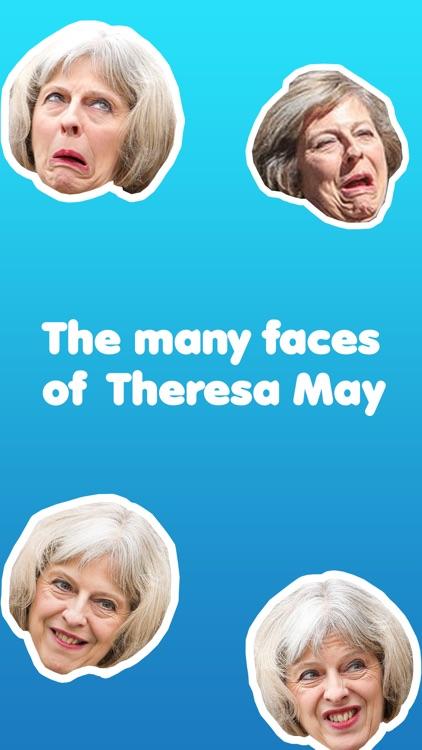 May-moji - The many faces of Theresa May