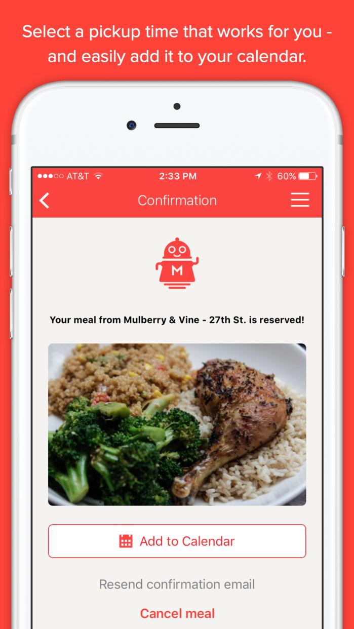 MealPal- Best Meals Around You Screenshot
