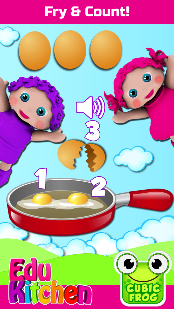 Toddlers Food Games-EduKitchen Screenshot