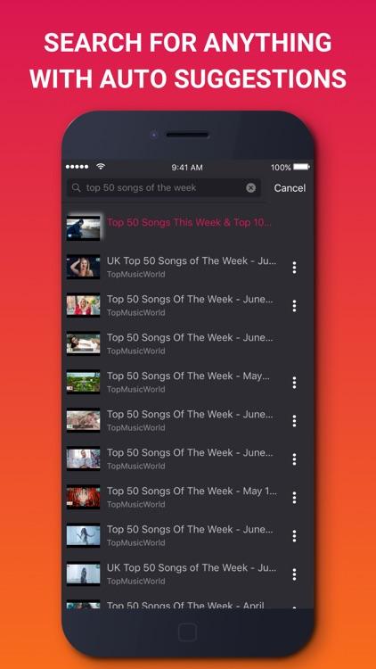 Music Tube - Music Video Streaming screenshot-3