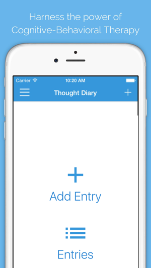 Cognitive Behavioral Therapy App Iphone