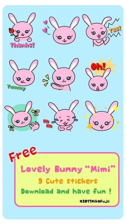 Sticker pack Lovely Bunny Mimi