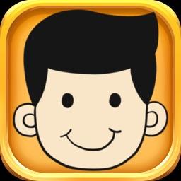 Nice Guy Stickers - Nice Guy Emojis Set