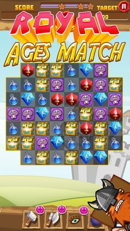 Royal ages of match screenshot-3