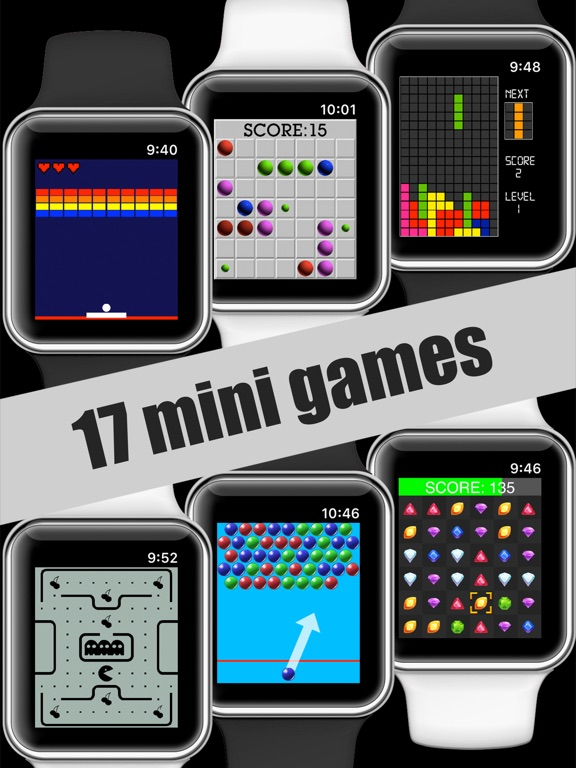 17 Mini Games For Watch & Phone screenshot 4