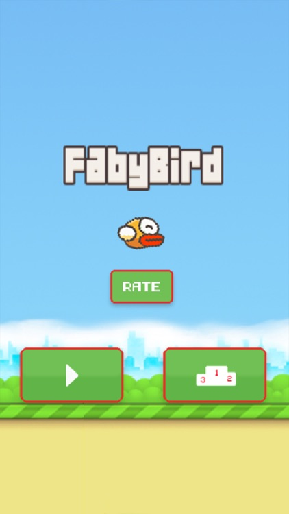 Faby Bird : The Flappy Adventure screenshot-0