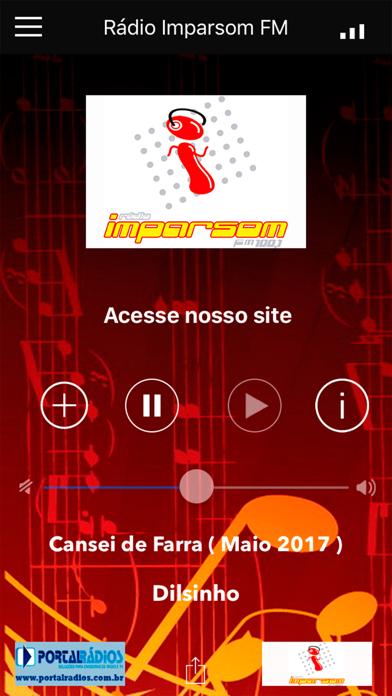 Rádio Imparsom FM screenshot one