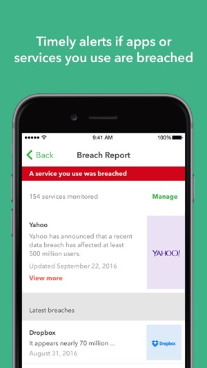 Lookout: Security and Identity Theft Protection Screenshot