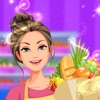 Supermarket Cashier & Shopping