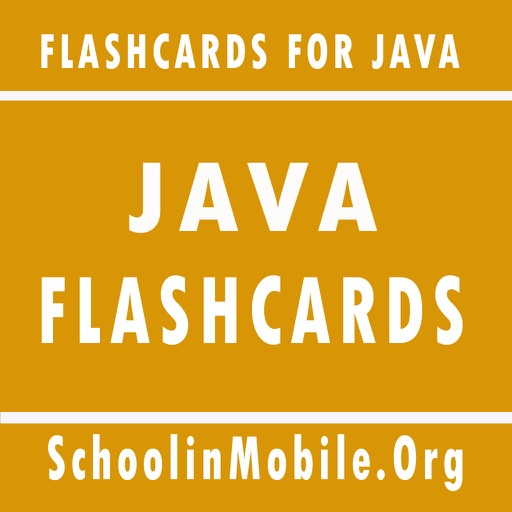 Learn Java with Flashcards