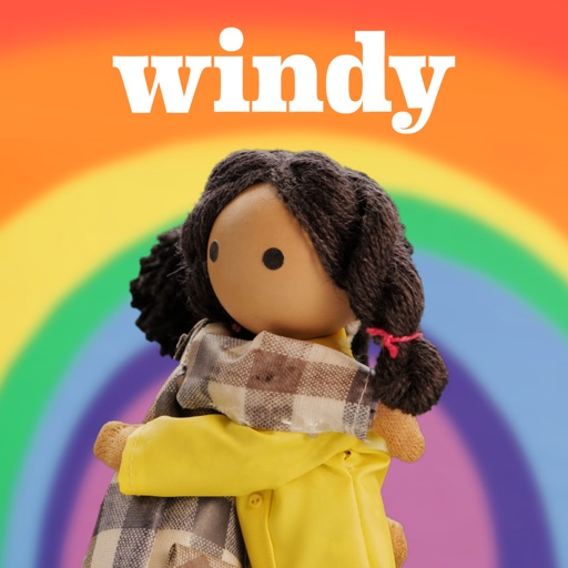 Mild & Mellow's Rainbow Bright - Windy and Friends