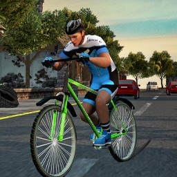 Bicycle Racing Simulator 17 - Extreme 2D Cycling