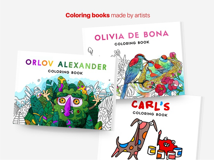 Tayasui Coloring Books By
