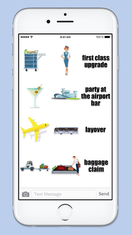 Airport Travel Sticker Pack screenshot-3